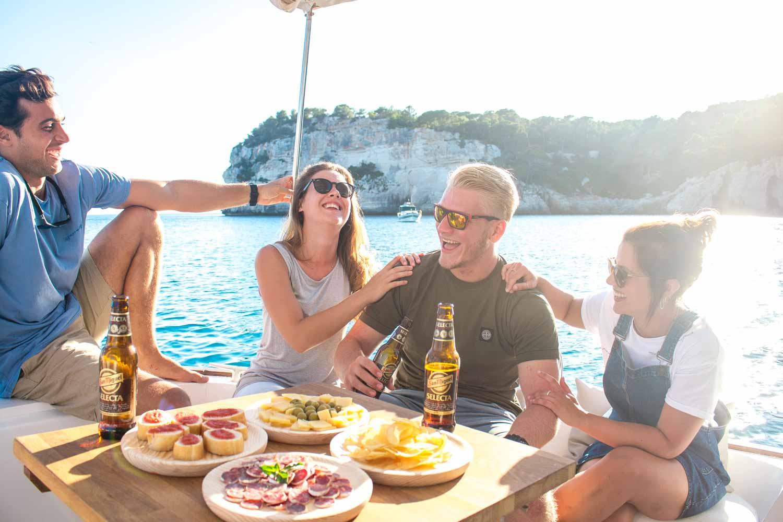 Menorquina charter ruta exclusiva en Menorca